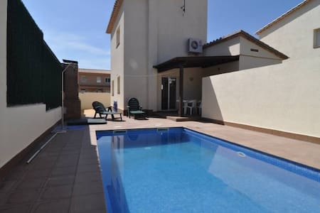 Ideal for your Holidays With Pool - L'Escala - Haus