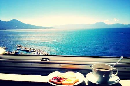 Stanza doppia e colazione sul mare a Posillipo - Napoli