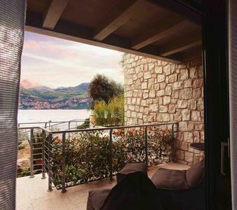 Standard studio lake view