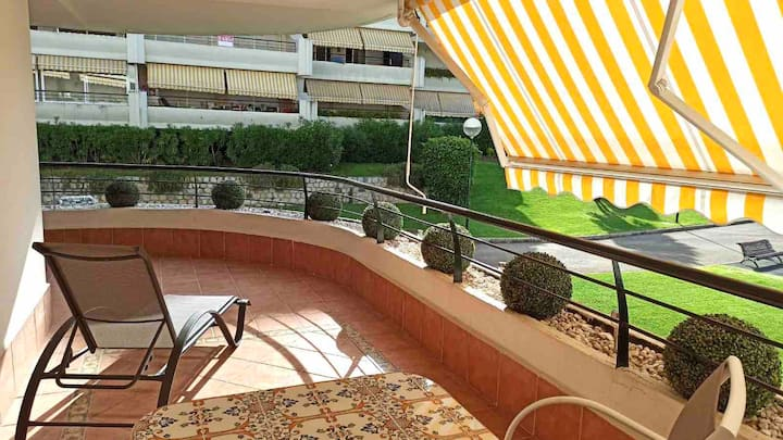 Gran apartamento Guadalmina Golf - PARKING - 7 pax
