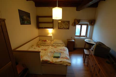 Accommodation in historical granary Častá II