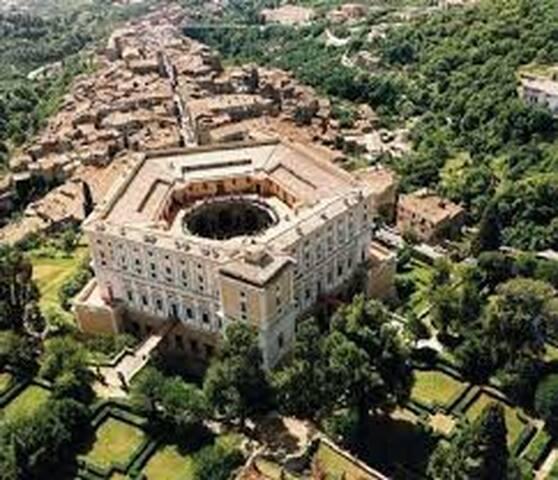 Palazzo Farnese - vista dall'alto