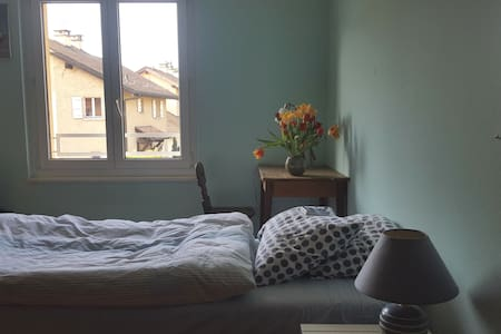Double room for family friendly business traveller - Thônex - Casa