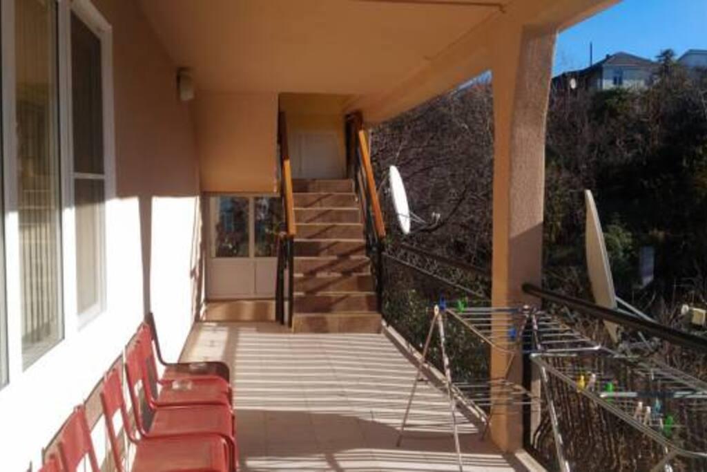 Балконы на 3 этаже