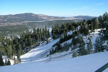 Bear Mountain Ski Resort is 4.1 miles from the cabin.