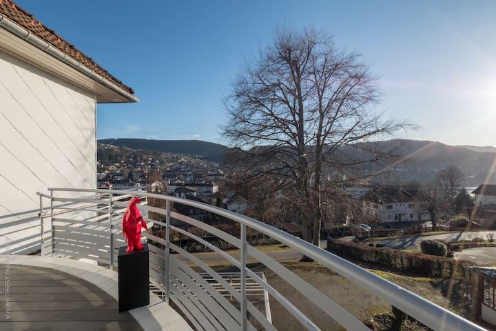 Villa standing, sauna jacuzzi, vue imprenable lac