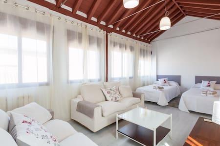CENTRO-PARKING-DÚPLEX-LUJOSO-WIFI-TERRAZA CHILLOUT - Granada - Lejlighed