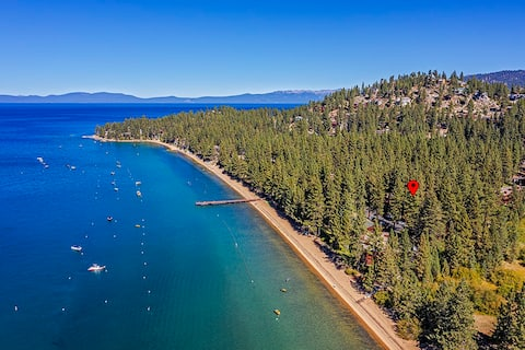 Beach and Skiing at Lake Tahoe-It's there for you