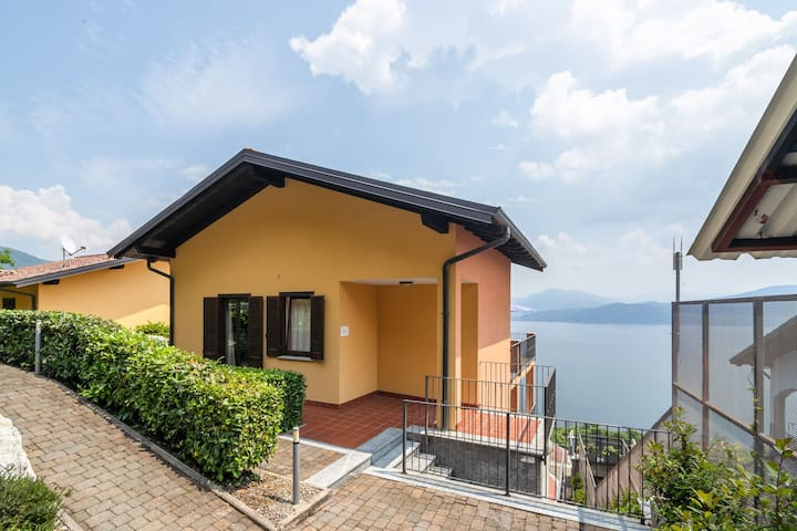 Modern Apartment in Oggebbio Italy with Swimming Pool