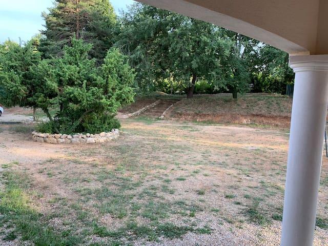 Espace extérieur / jardin
