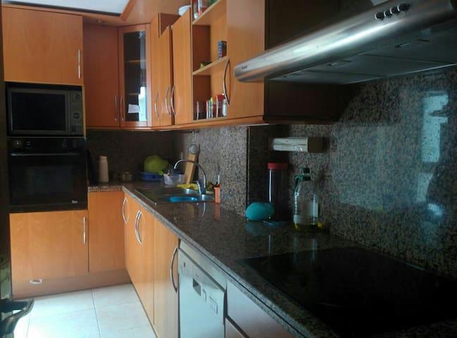 Habitación doble en apartamento céntrico