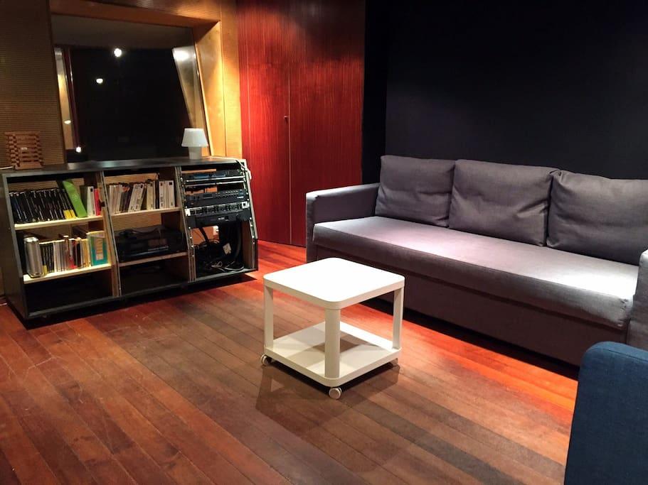 Lounge, et Chambre N°3 (Divan Lit)