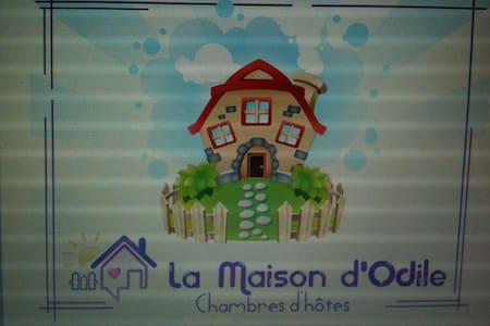 La Maison d'Odile chambres d'Hôtes - Beaujeu-Saint-Vallier-Pierrejux-et-Quitteur - Bed & Breakfast