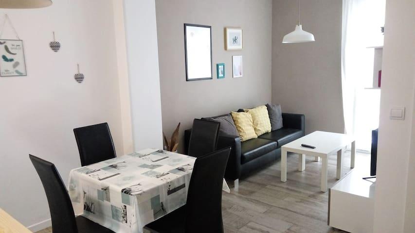 Habitación tranquila individual en Valencia