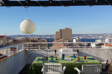 Studio – Panoramic terrace - Endoume – Corniche - Marseille