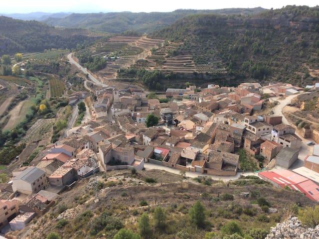 Maison de village proche de Margalef - La Bisbal de Falset - Apartment