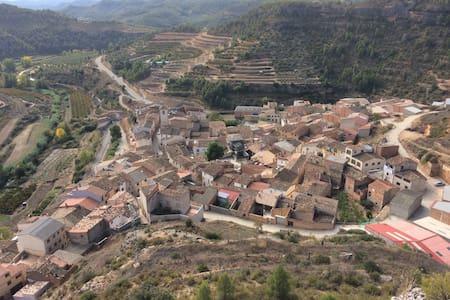 Maison de village proche de Margalef - La Bisbal de Falset