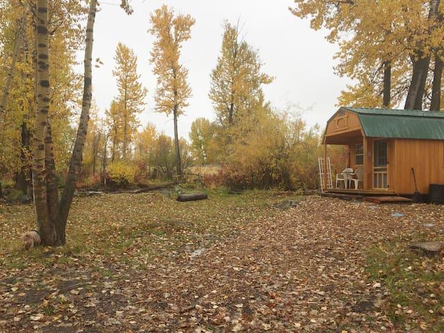 Bozeman Camp River Cabin