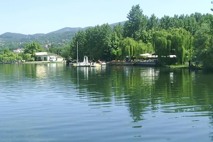 Muhteşem göl ve doğa manzaralı,müstakil bahçeli - Sapanca - Villa