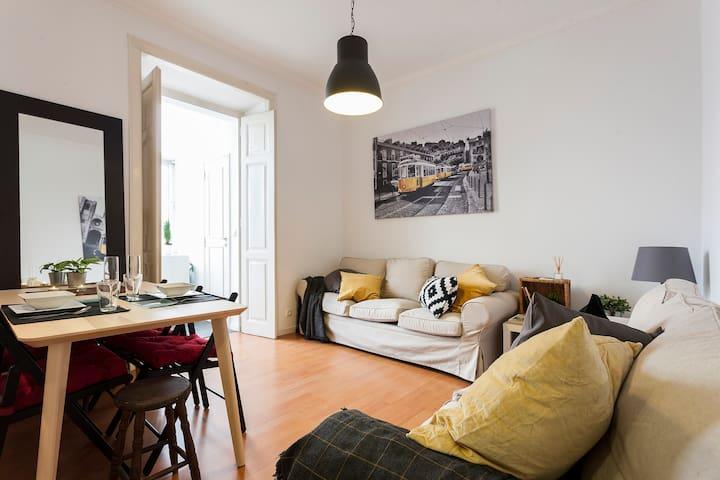 Graça lovely apartment for 6 with garden