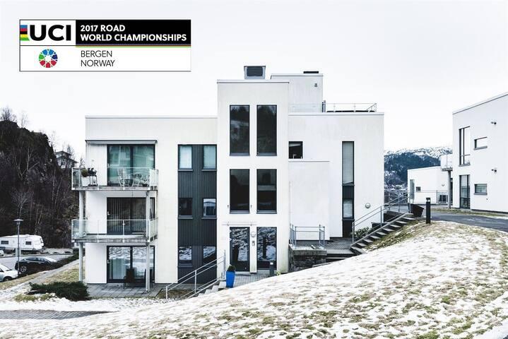 UCI Road World Championship 2017 apartment