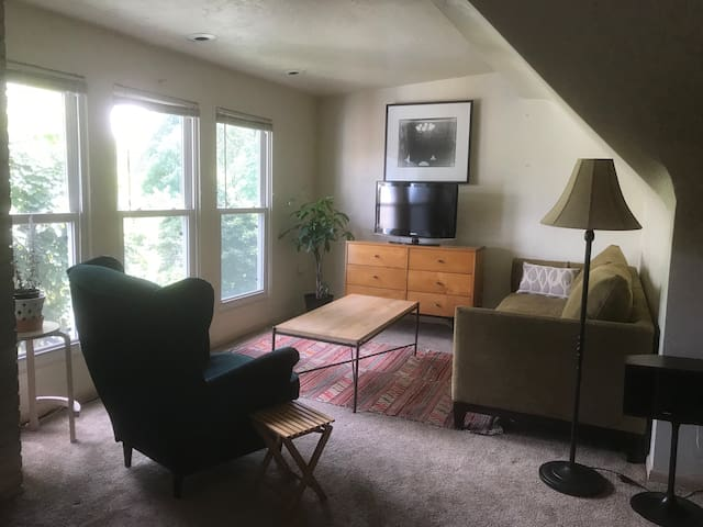 Sunny, Private One-Bedroom by Frick Park