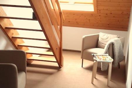Schöne Dach Wohnung 5 Min Zentrum - Wangen im Allgäu