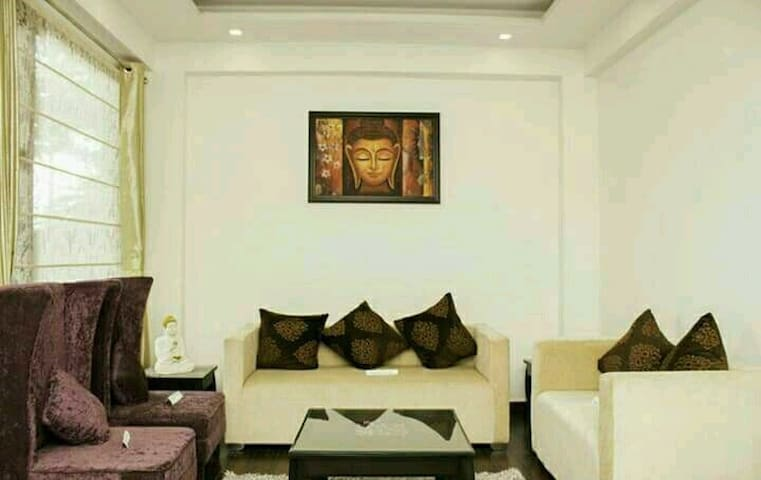 Heavenly Abode-Claridges Residency, 1BHK Furnished