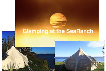 Too Posh To Pitch and oh the view Glamping - Port Ludlow - Çadır