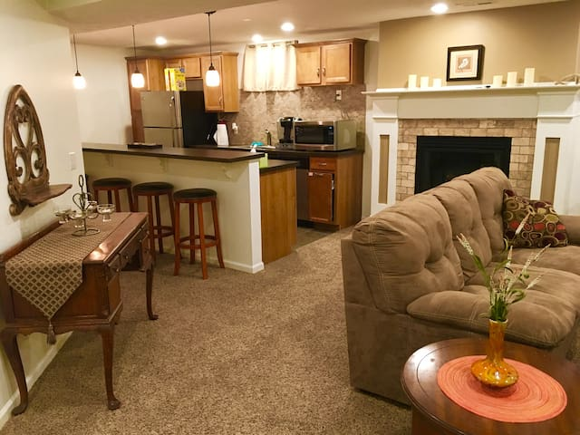 Comfortable Apartment in North/Central Omaha - Omaha - Flat