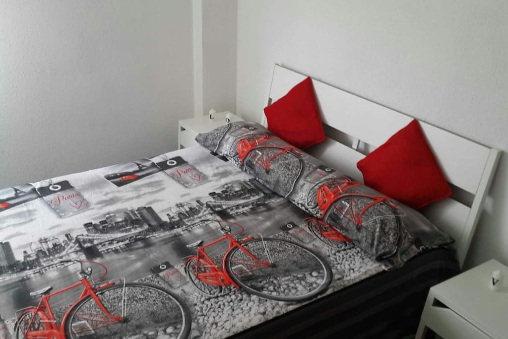 Comfortable double-bed