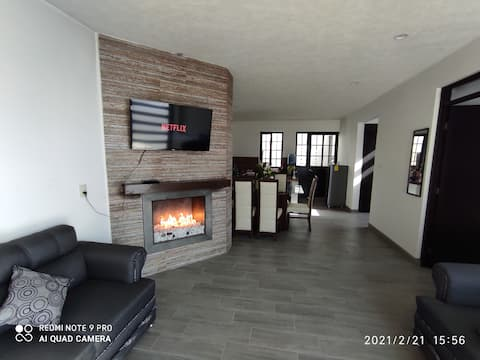 New house in Pátzcuaro with beautiful lake view