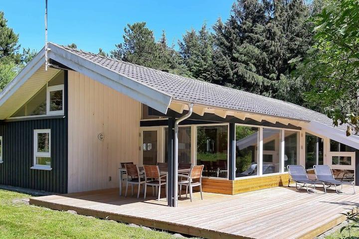 Modern Holiday Home in  Bindslev with Sauna