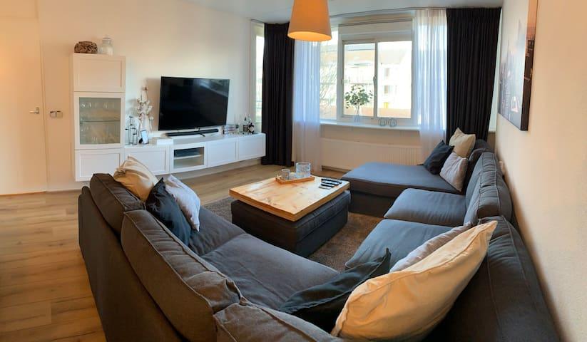 Luxe appartement dichtbij Amsterdam en het Strand