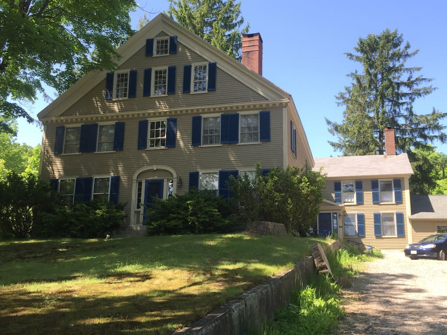 The little house, built in 1798, is part of a larger home completed in 1803.