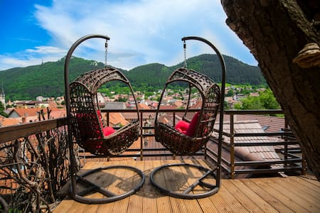 Saddleview Brasov- Mountain View Central Apartment