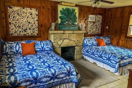 Burt's Cabin at Tracy!