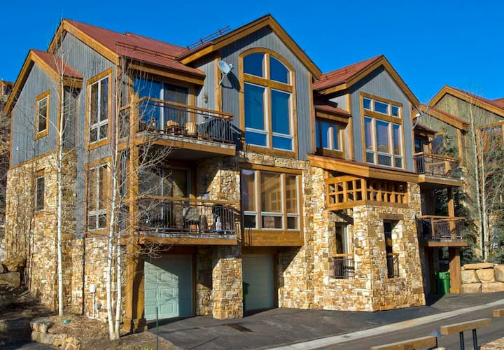 TERRACES 101 - Slopeside Condo, Meadows of Mountain Village, Ski-In/Ski-Out