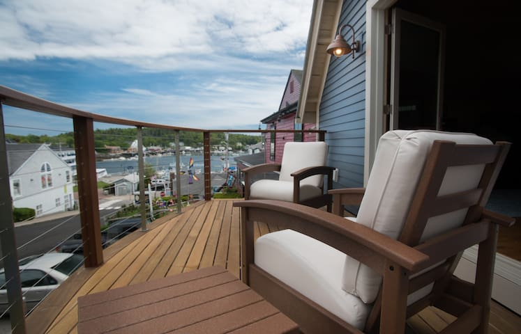 Harborfront Studio in Boothbay - Boothbay Harbor - Huis