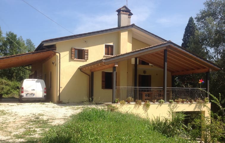 Casa nel verde dei colli asolani - Monfumo - House