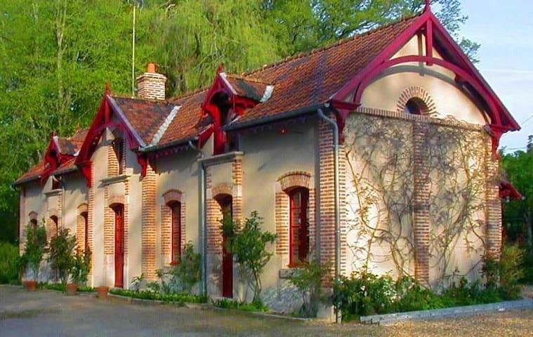 les glycines - Crouy-sur-Cosson - Huis