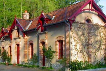 les glycines - Crouy-sur-Cosson - Rumah