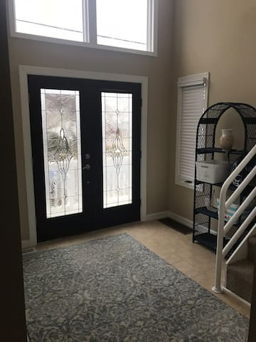 Entryway of house