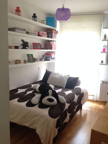 Habitación en ático duplex con baño - Madrid - Apartment