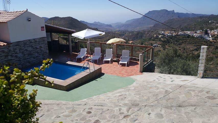 Casa Rural de Perera con piscina privada