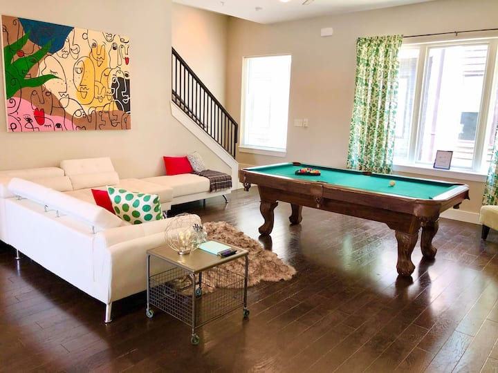 CityHaven -Rooftop patio/outdoor grill/pool table!
