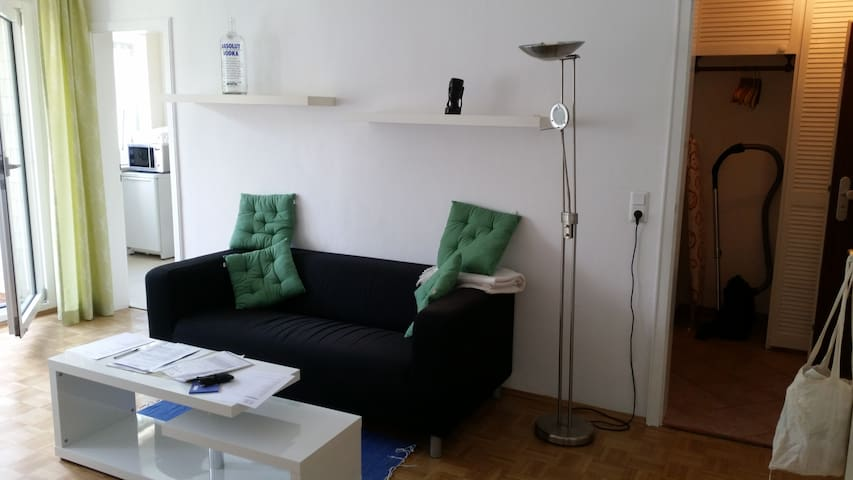 Nice and bright small apartment! 25min to central!
