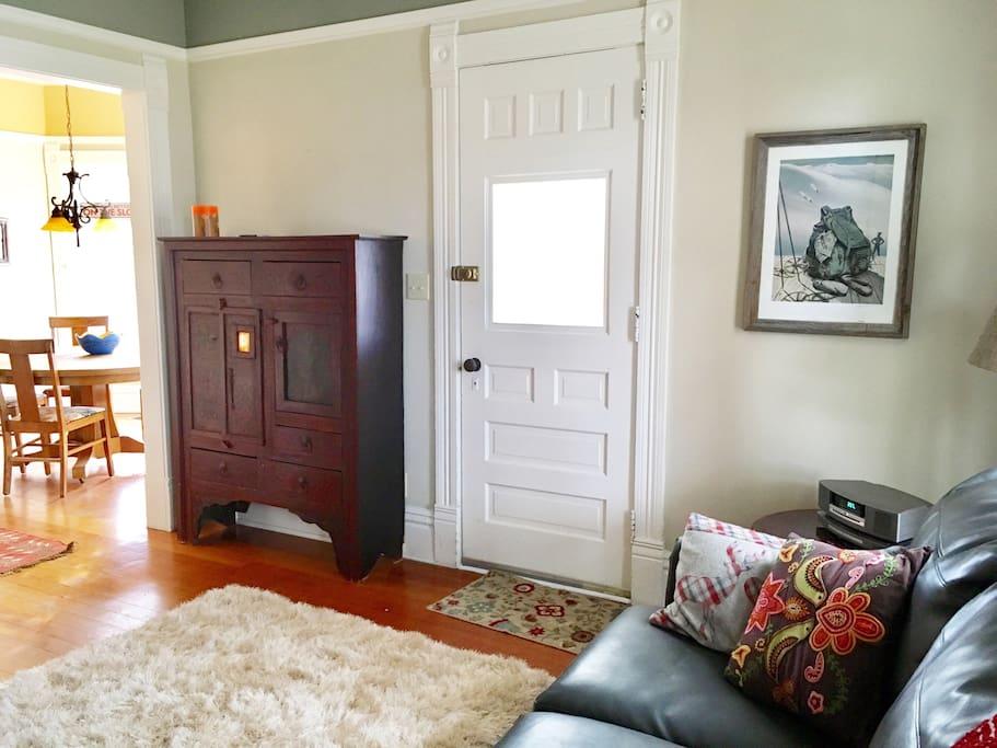 Living Room Entrance/Exit