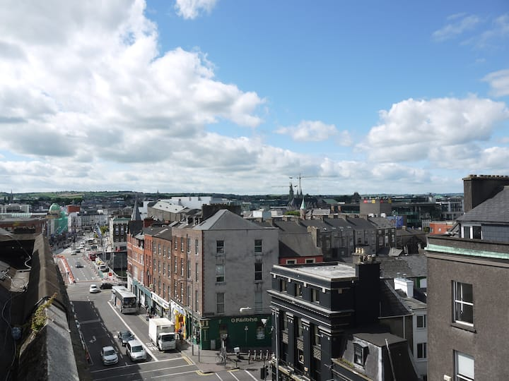 Cork city centre roof top apartment
