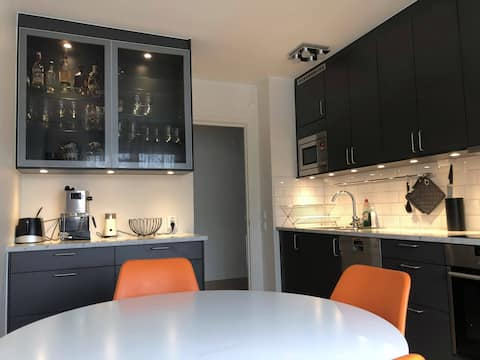 Spacious and central apartment, perfect for work